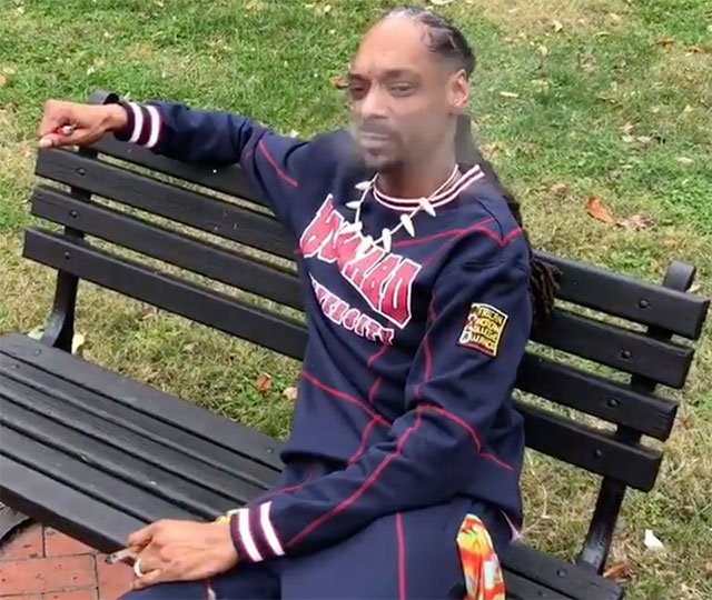 Asi protesta Snoop Dogg contra Donald Trump