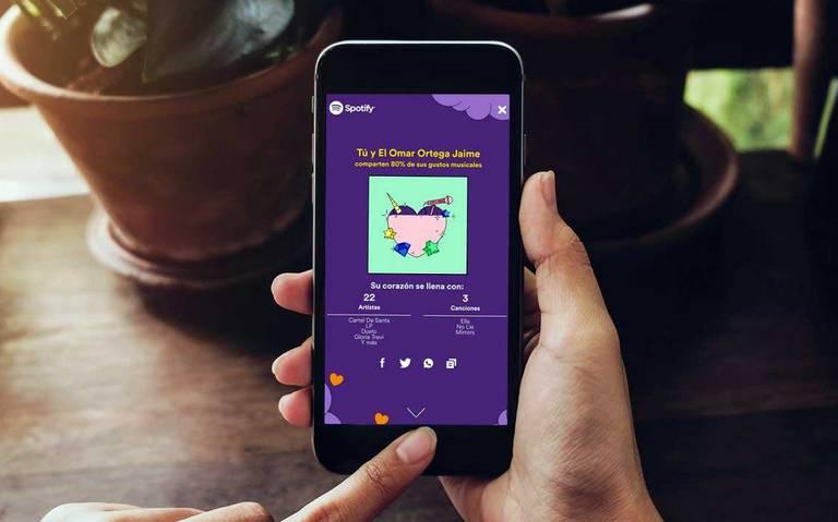 Spotify puede decirte si tenés los mismos gustos musicales que la persona que te gusta