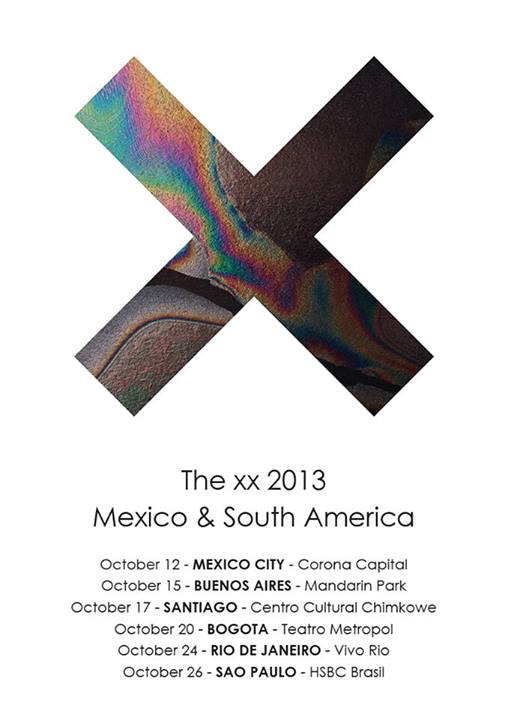 the xx tour