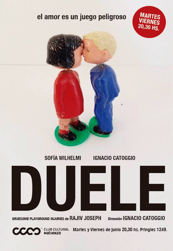 Duele poster