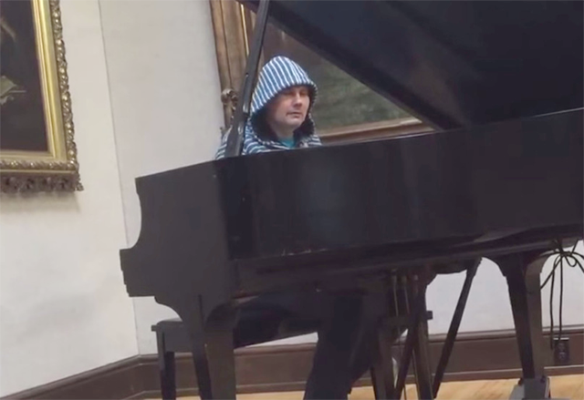 billy corgan piano