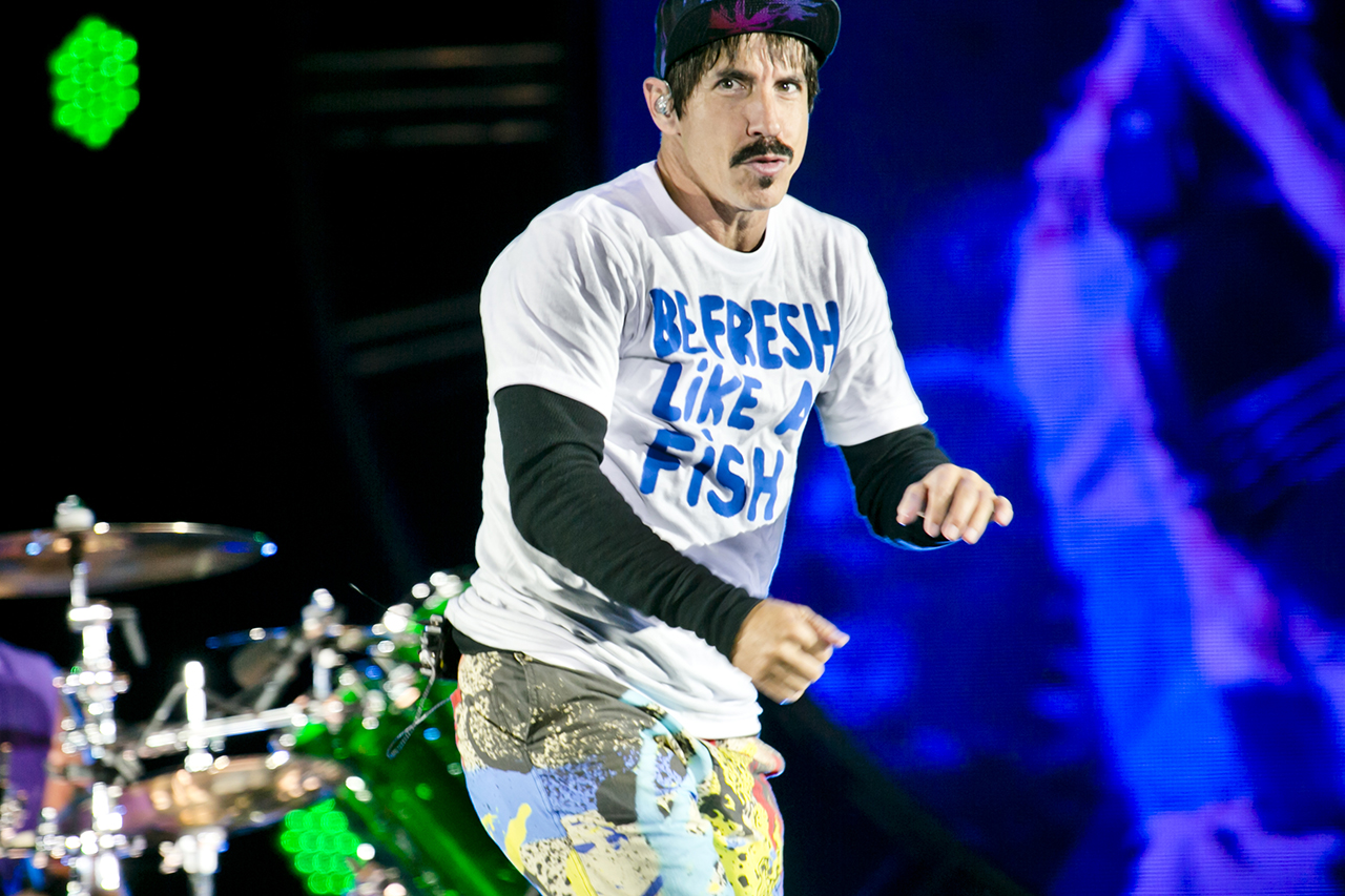 Red Hot Chilli Peppers at Roskilde Festival, Roskilde, Denmark - 29 JUNE 2016