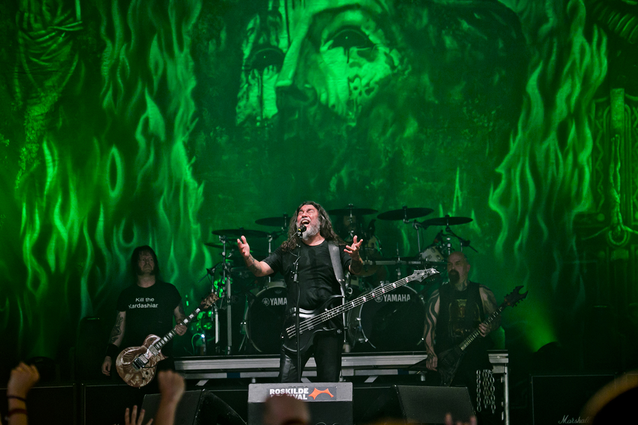 Slayer at Roskilde Festival, Roskilde, Denmark - 29 JUNE 2016