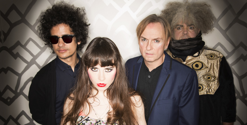 ", Crystal Fairy (Melvins, At the Drive-In) estrena canción: ""Crystal Fairy"""