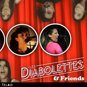 Les Diabolettes & Friends en Bebop Club