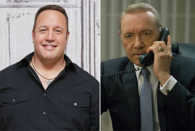 , Crean una petición para que Kevin Spacey sea reemplazado por Kevin James en House of Cards