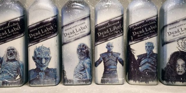 ", ""White Walker"": Johnnie Walker lanzará botellas de whisky en honor a Game Of Thrones"