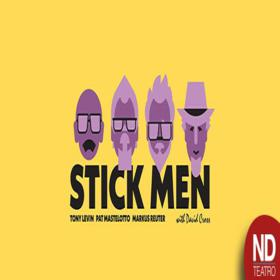 Stick Men y David Cross en Argentina