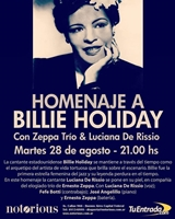 Homenaje a Billie Holiday en Notorious
