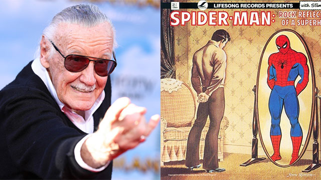 , El disco de rock que Stan Lee hizo con Spider-Man en 1975