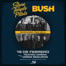 Stone Temple Pilots y Bush en el Teatro Ópera Orbis Seguros