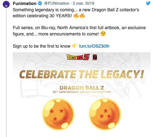 , Dragon Ball Z cumple 30 años y presenta una colección única para fanáticos