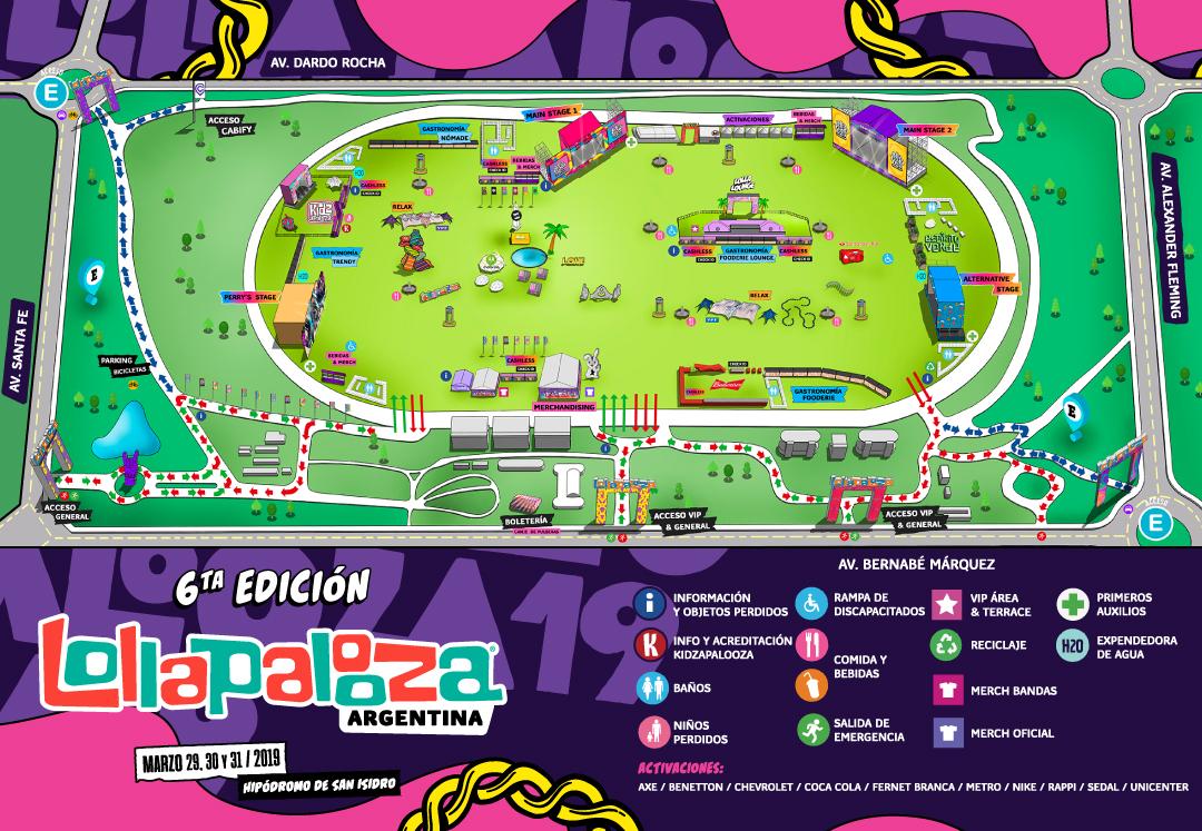 , Lollapalooza Argentina 2019: Horarios, cómo llegar, y más en esta guía