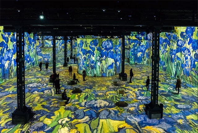 , Conocé la exposición de Van Gogh que permite caminar dentro de sus cuadros