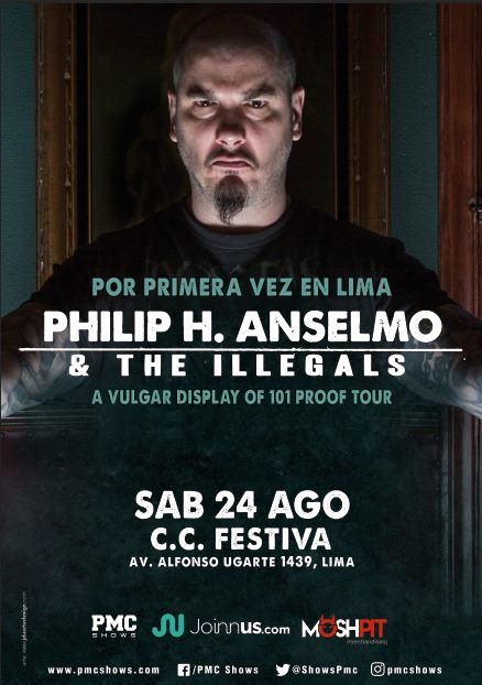 Phil Anselmo and The Illegals en Perú